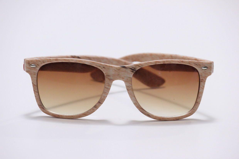 Gafas de sol montura simulación madera - Amart Palma