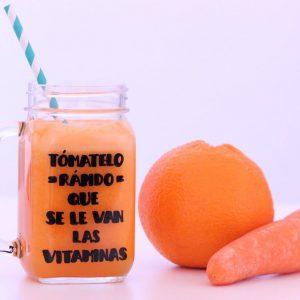 vaso de smoothie