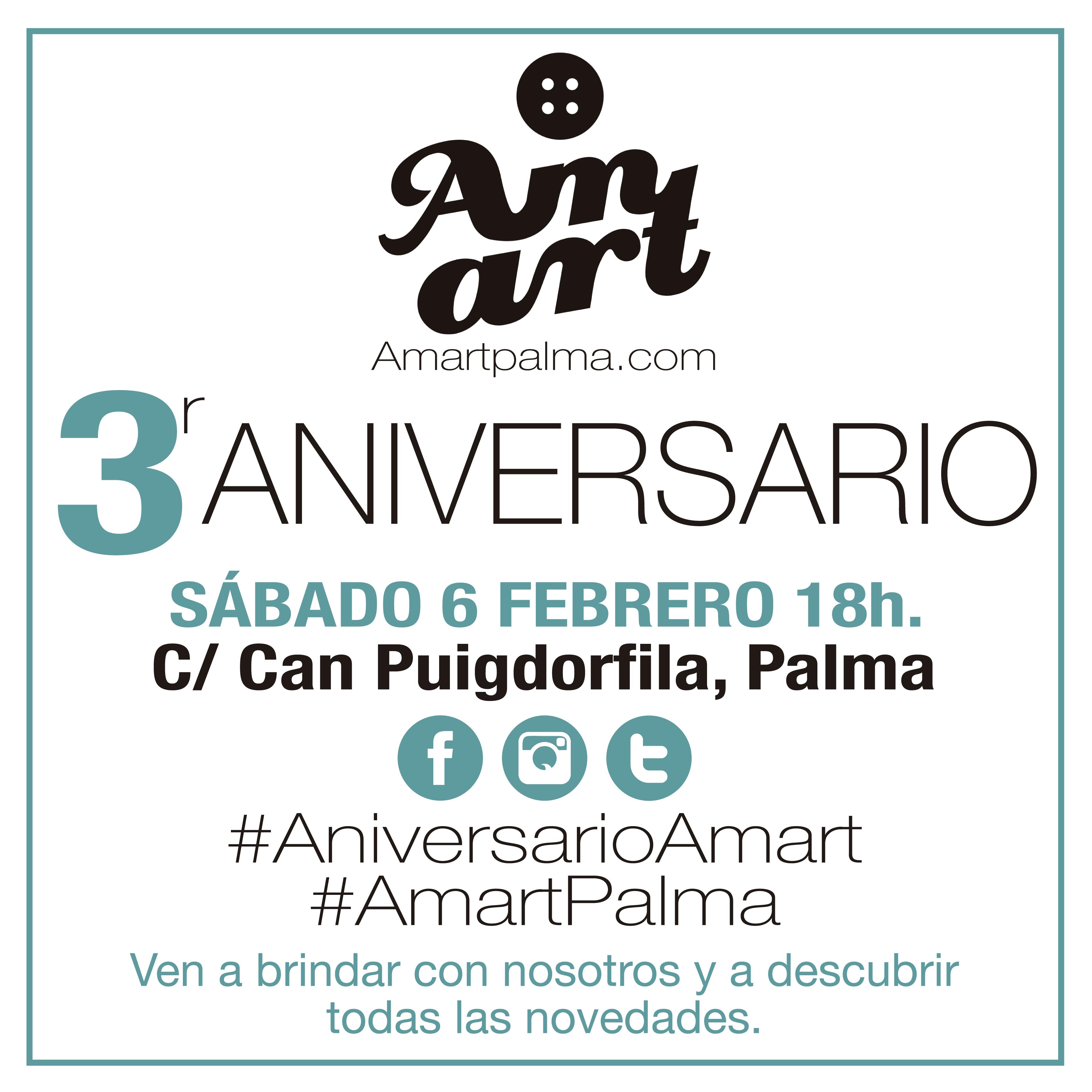3r aniversario de Amart Palma