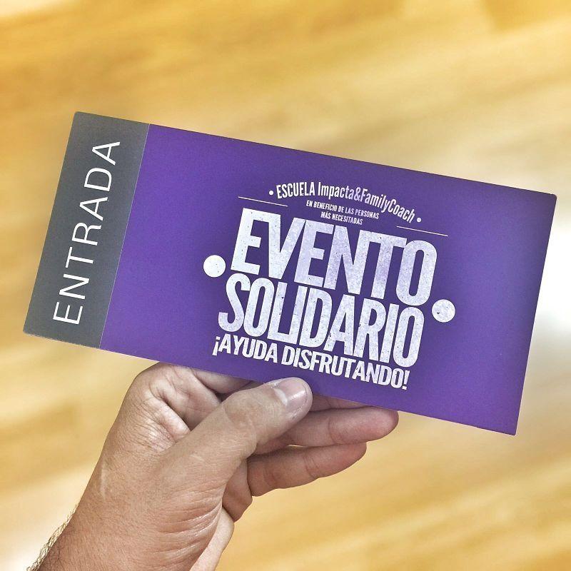 Evento Solidario ¡Ayuda Disfrutando!-entrada