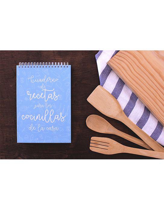 Cuaderno de recetas para los cocinillas de la casa