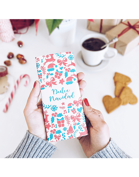 "Tableta de chocolate ""Dulce Navidad"""