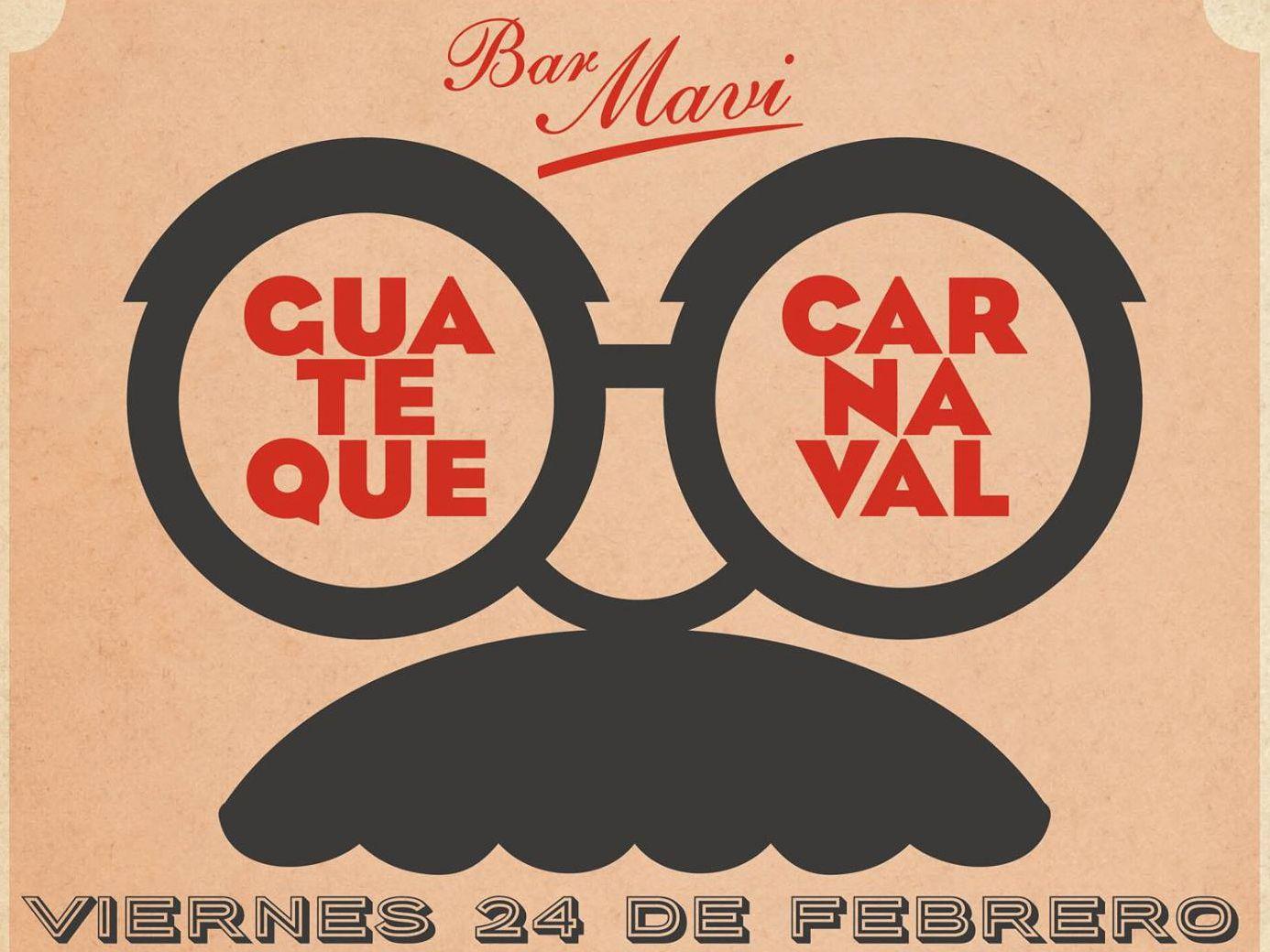 Guateque de Carnaval con sorteo solidario en Bar Mavi