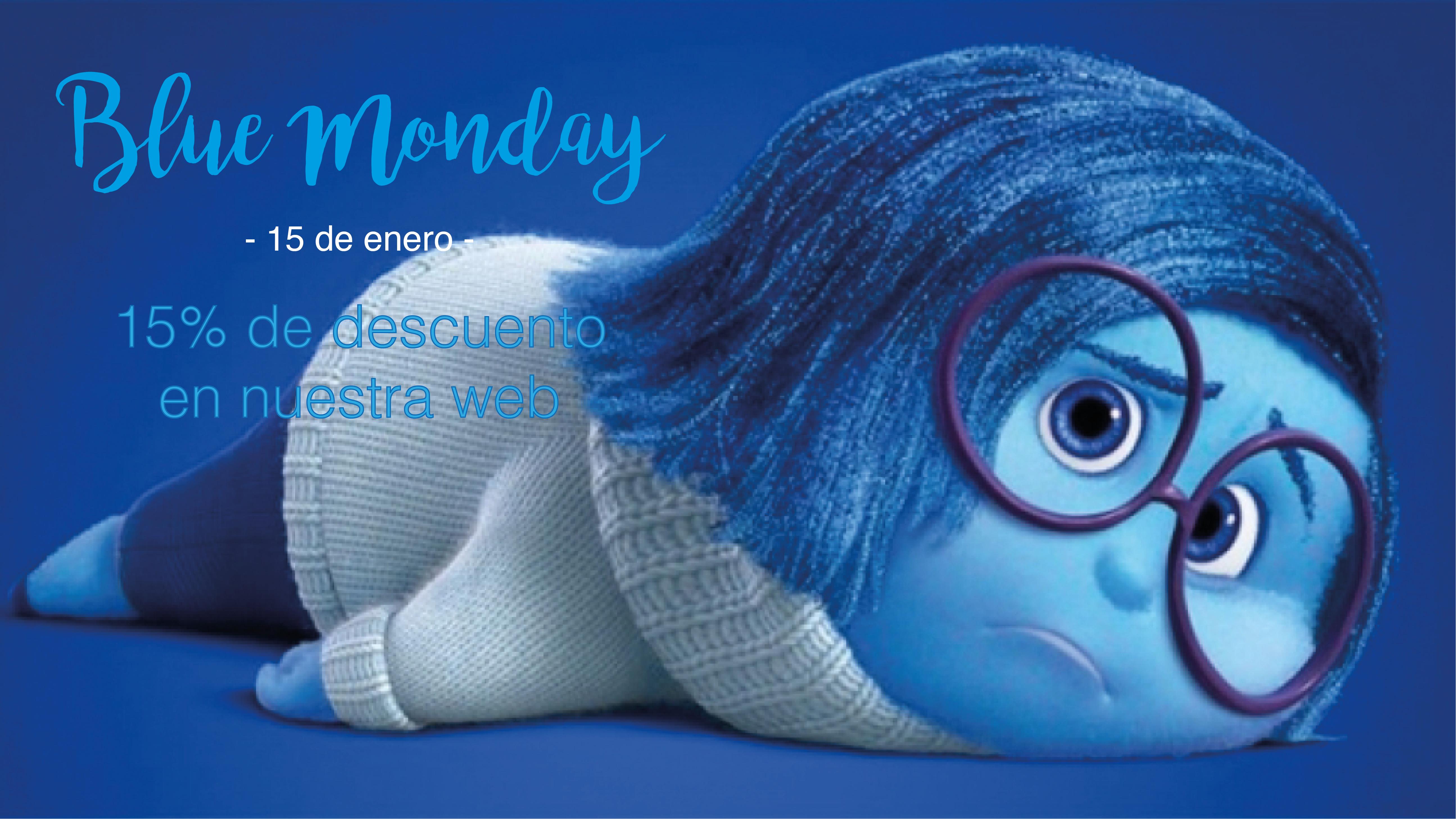 ¡Llega el Blue Monday o lunes triste con un descuento para ti!