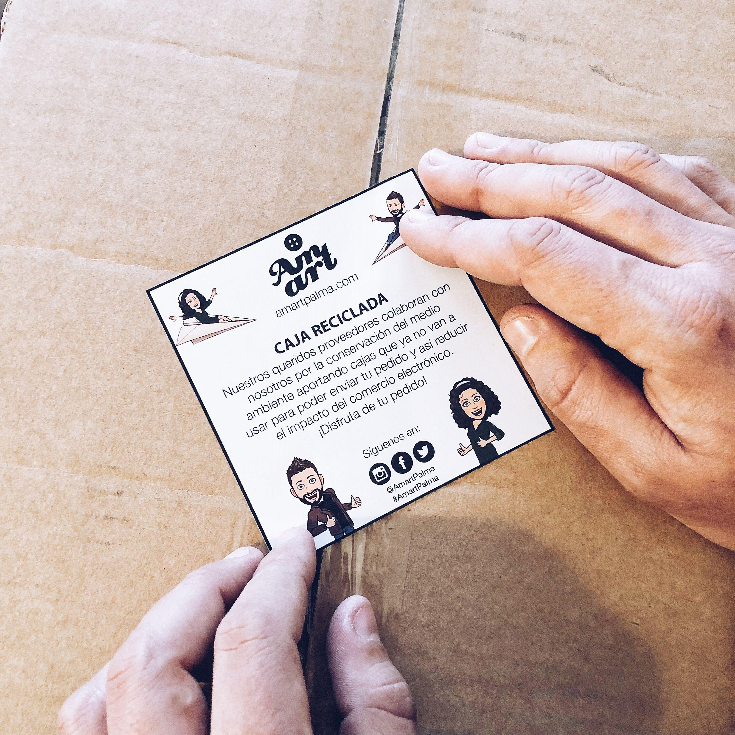 Cajas reutilizadas para reducir el impacto en el medio ambiente