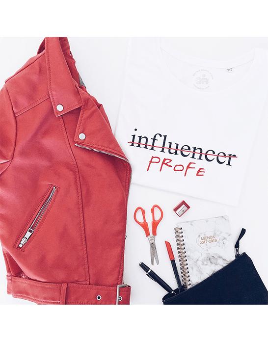 "Camiseta ""Influencer/profe"""