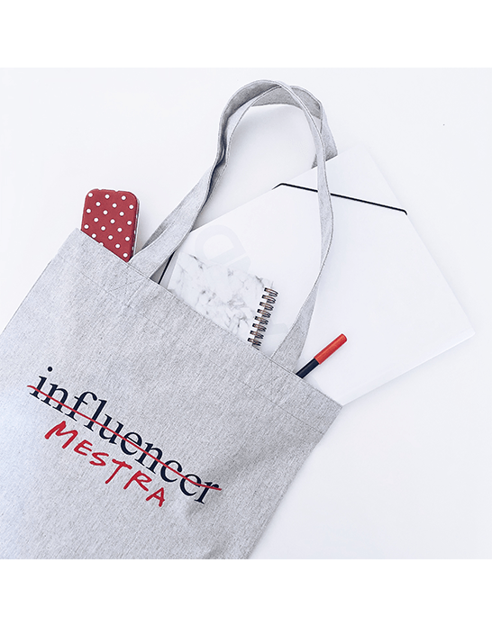 "Tote bag ""Influencer/profe"""