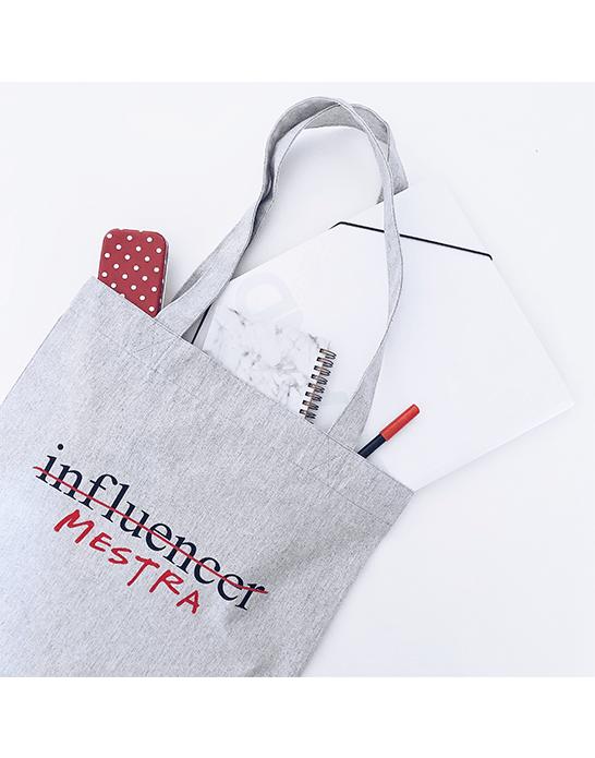 """Tote bag """"Influencer/profe"""""""
