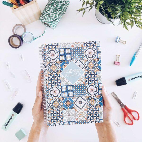 agenda anual mosaico