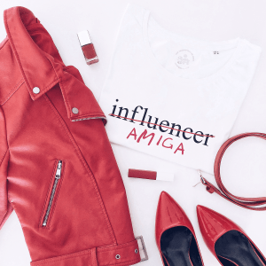 camiseta influencer amiga