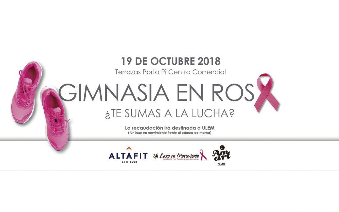 #GIMNASIAENROSA en Porto Pi Centro Comercial