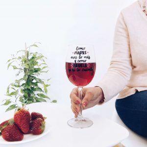 copa de vino abuela