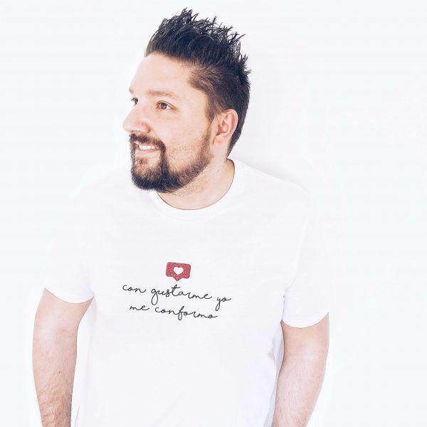Camiseta con mensaje