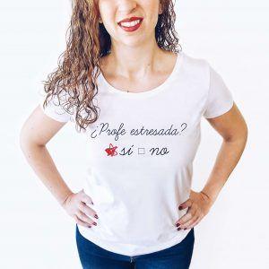 Camiseta para profe
