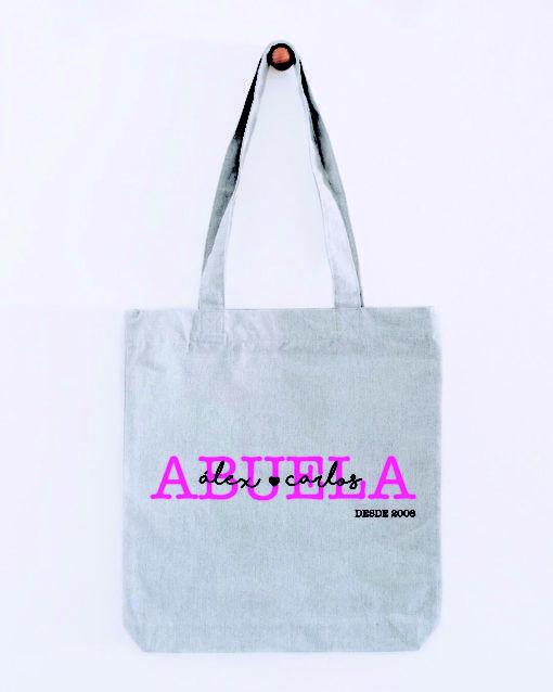 tote bag con mensaje para abuelas
